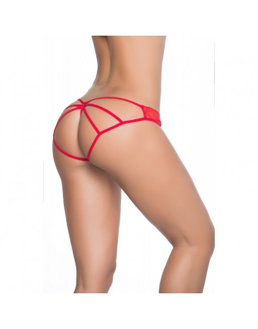 Culotte Cage Style 97 - Rouge