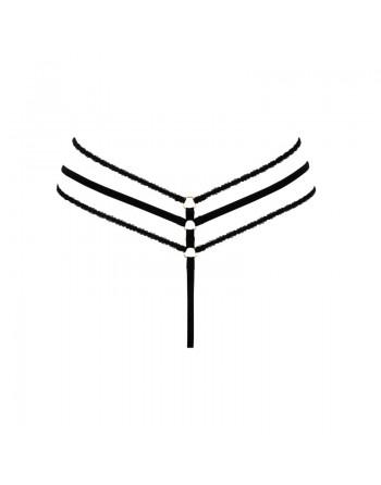 Aretusa String Ouvert - Noir