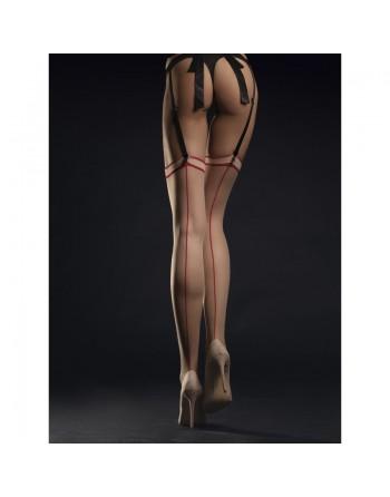 Madame Bas 20 DEN - Nude et Rouge
