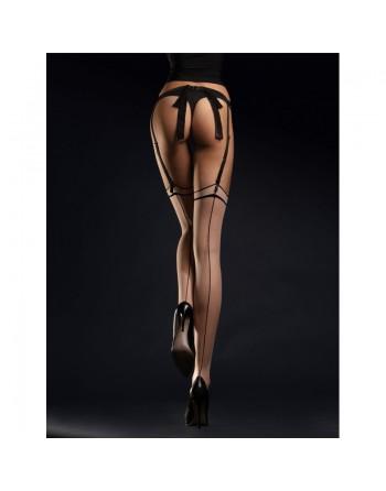 Madame Bas 20 DEN - Nude et Noir