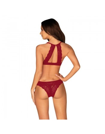 Ivetta Ensemble 2 pcs - Bordeaux