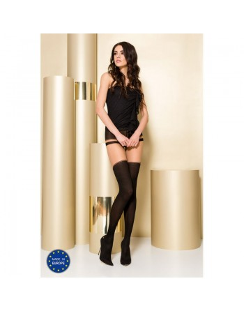 TI101 Collants 50/20 DEN - Noir et Gris