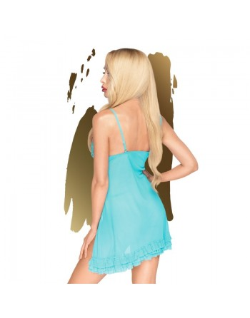 After Sunset Babydoll - Turquoise