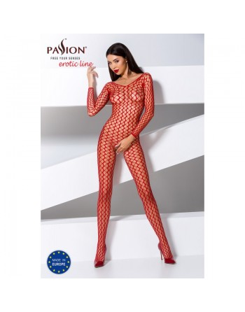 BS068R Bodystocking - Rouge