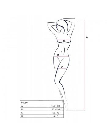 BS056B Bodystocking - Noir