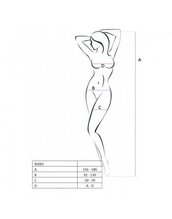 BS001 Bodystocking - Noir