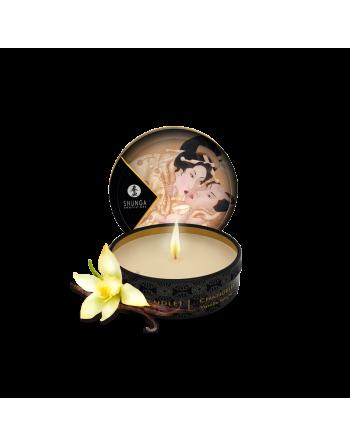 Mini bougie de massage - Désir Vanille
