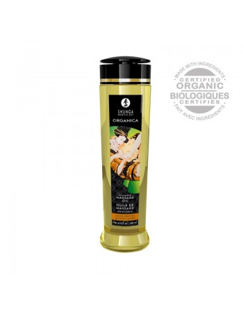 Huile de massage organique - Douceur d'amande - 240 ml