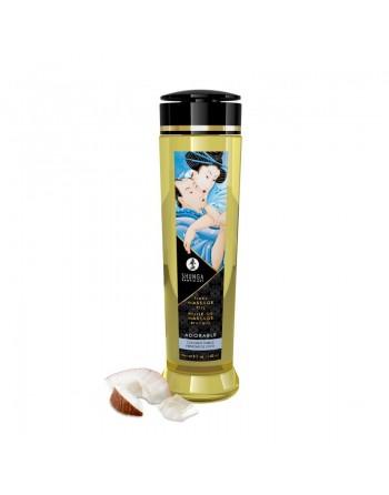 Huile de massage érotique - Adorable - Frissons de coco - 240 ml