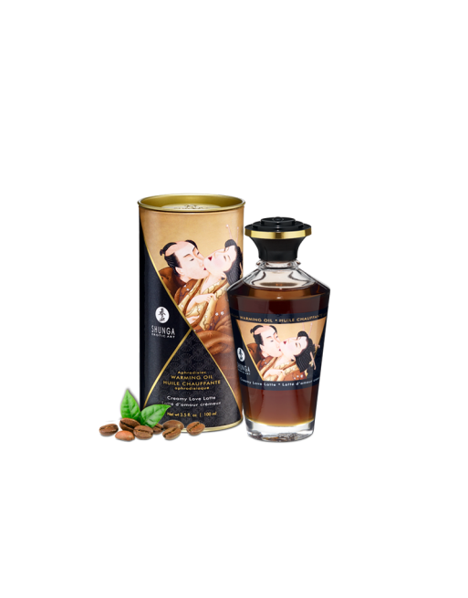 Huile chauffante aphrodisiaque - Latte d'amour 100ml