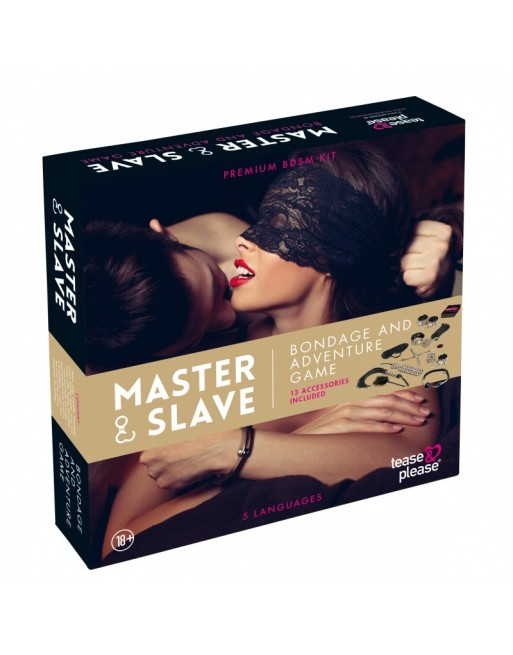 Kit BDSM Master and Slave Premium - Beige