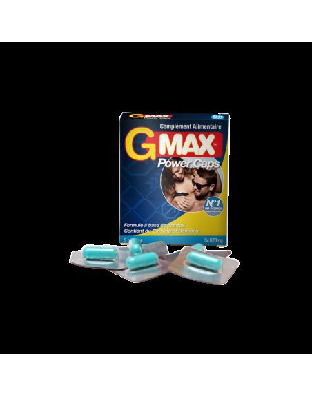 Gmax Power Caps Homme - 5 gélules